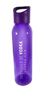 This Could Be Vodka Water Bottle Purple